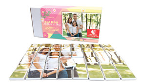 Bold Colour Mother's Day Chocolate Jigsaw Puzzle (48-Piece)