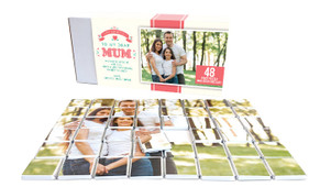 Dear Mum Mother's Day Chocolate Jigsaw Puzzle (48-Piece)