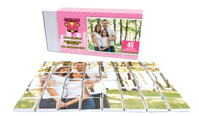 Super Mum In Pink Mother's Day Chocolate Jigsaw Puzzle (48-Piece)