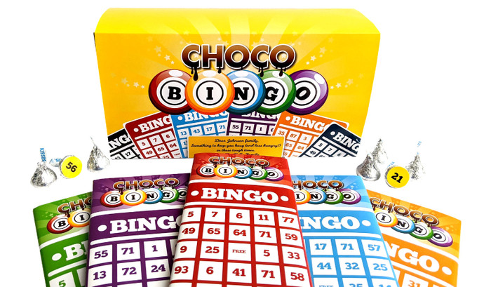 Chocolate Bingo Game With Personalised Cover