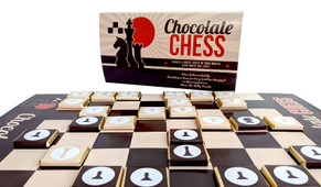 Chocolate Chess Game With Personalised Cover