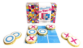 Chocolate Tic-Tac-Toe Game With Personalised Cover