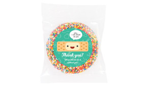 Happy Band Aid Chocolate Personalised Giant Freckles