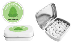 Reinforce-Mints Nurses Day Personalised Mint Tin