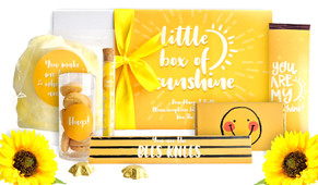 Little Box Of Sunshine Personalised Care Pack (With Lights)