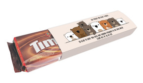 Missed You Bear-y Much Personalised Packet Of TimTams TM