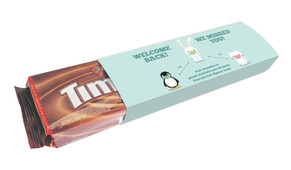 Cute Social Distancing Welcome Back TimTams TM Pack