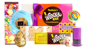 Wonka Box Care Pack Personalised Hamper