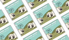 Missing Ewe Welcome Back Personalised Mini Chocolates