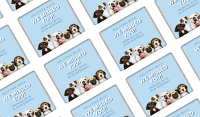 Dogs Welcome Back Personalised Mini Chocolates