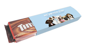 Dogs Welcome Back Personalised Packet Of TimTams TM