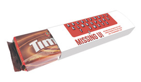 Missing U Welcome Back Packet Of TimTams TM