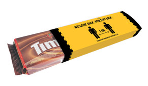 Now Stay Back Welcome Back TimTams TM Pack