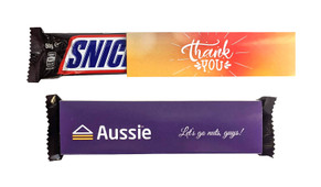 Snickers TM Bar With Personalised Sleeve
