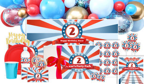 Superhero Birthday Personalised Party Pack
