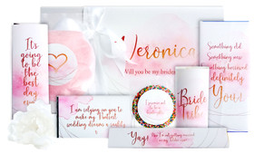 Be My Bridesmaid In Blush Hamper Gift