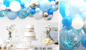 Brilliant Blue DIY Balloon Garland Kit - 1.8m Wide