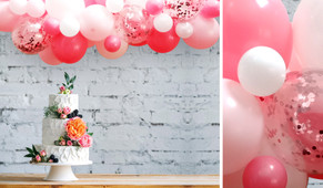 Pink On Pink DIY Balloon Garland Kit - 1.8m Wide