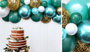 Jubilant Jungle DIY Balloon Garland Kit - 1.8m Wide