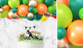 Forest Fire DIY Balloon Garland Kit - 1.8m Wide