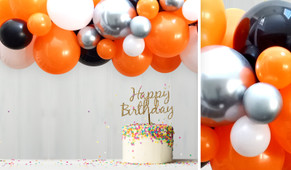 Oh My Orange DIY Balloon Garland Kit - 1.8m Wide