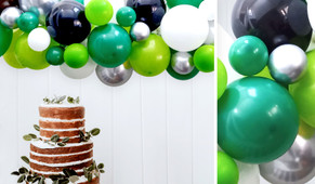 Racing Green DIY Balloon Garland Kit - 1.8m Wide