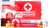 Actual contents of Emergency Chocolate Personalised Gift Hamper