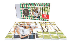 Argyle Fathers Day Chocolate Jigsaw Puzzle (48-Piece)