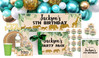 Jungle Gold Birthday Personalised Party Pack