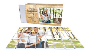 Timber Message Fathers Day Chocolate Puzzle (48-Piece)
