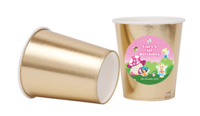 Fairy Garden Personalised Party Cups