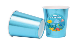 Under The Sea Personalised Party Cups