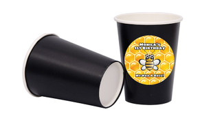 Bumble Bee Personalised Party Cups