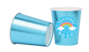 Rainbow Personalised Party Cups