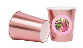 Add A Photo Girls Personalised Party Cups