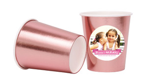 Banner Photo Personalised Party Cups