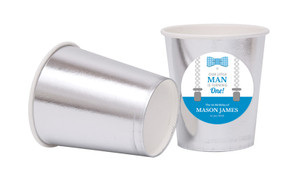 Little Man Personalised Party Cups