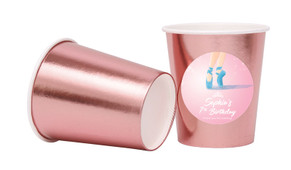 Ballet Shoes Personalised Party Cups