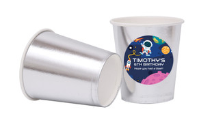 Astronaut Personalised Party Cups