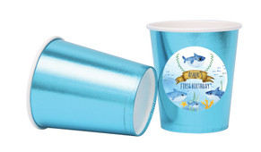 Baby Shark And Family Personalised Party Cups