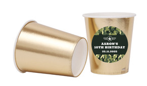 Army Personalised Party Cups
