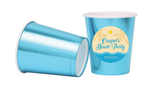 Beach Party Personalised Party Cups