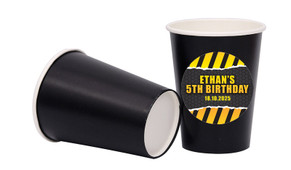 Construction Builders Personalised Party Cups