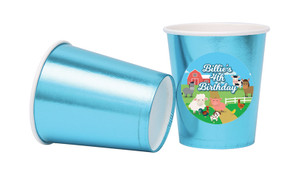 Down The Farm Personalised Party Cups