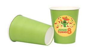 Mexican Fiesta Personalised Party Cups