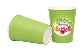 Monster Slime Personalised Party Cups