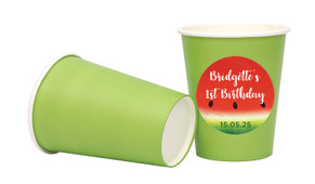Watermelon Party Personalised Party Cups
