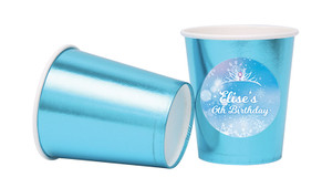 Ice Princess Personalised Party Cups