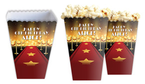 Hollywood Personalised Popcorn Boxes