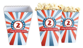 Superhero Personalised Popcorn Boxes